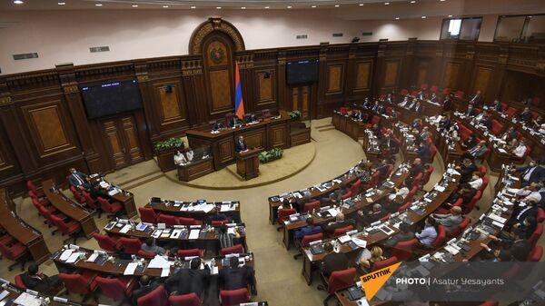 Заседание Парламента Армении (24 августа 2021). Еревaн - Sputnik Армения