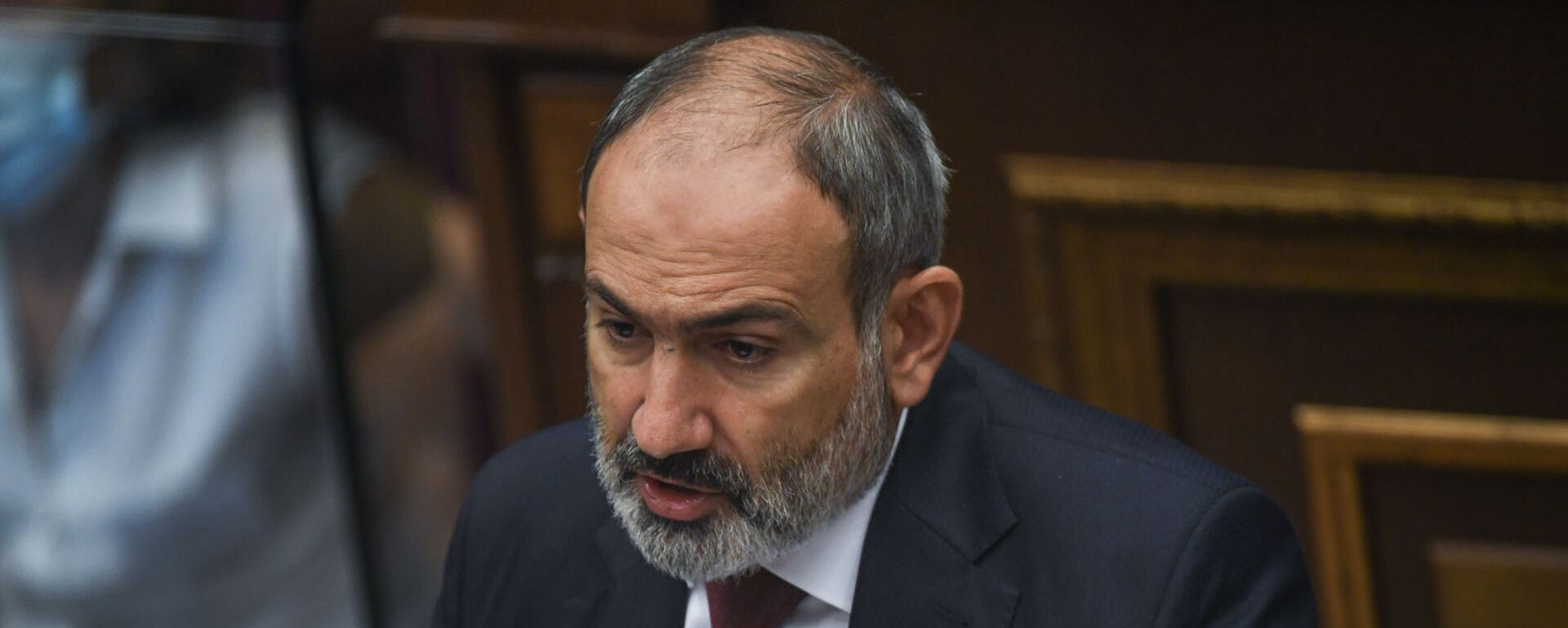 Премьер-министр Никол Пашинян на заседании Парламента Армении (24 августа 2021). Еревaн - Sputnik Արմենիա, 1920, 24.08.2021