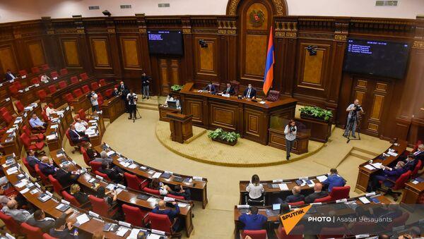 Заседание Парламента (26 августа 2021). Еревaн - Sputnik Армения
