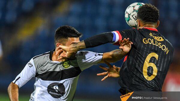 Ответный матч раунда плей-офф Лиги Европы между командами Алашкерт и Рейнджерс (26 августа 2021). Еревaн - Sputnik Արմենիա