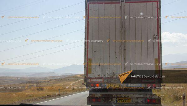 Автотрасса между селами Воротан и Тег - Sputnik Արմենիա