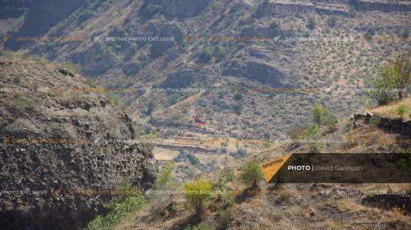 Дорога между селами Воротан и Тег - Sputnik Армения