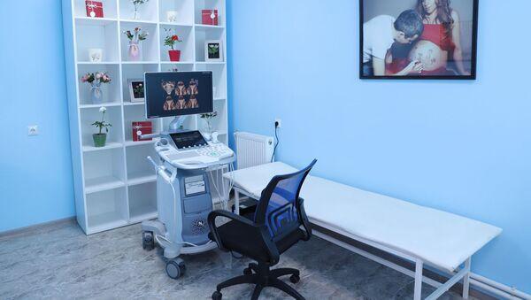 Диагностический центр в отделении акушерства и гинекологии Гюмрийского медицинского центра - Sputnik Արմենիա