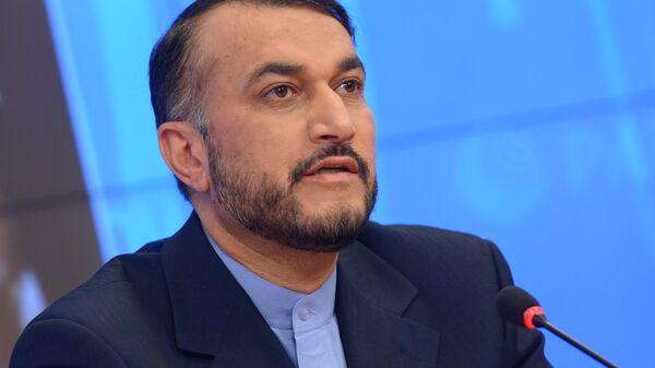Замминистра иностранных дел Исламской Республики Иран Хосейн Амир Абдоллахиан - Sputnik Արմենիա