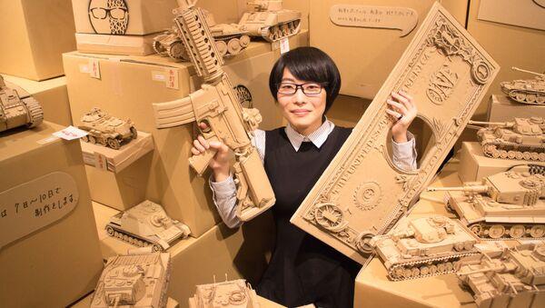 Японская художница-скульптор Монами Оно со своими творениями в Токио - Sputnik Армения