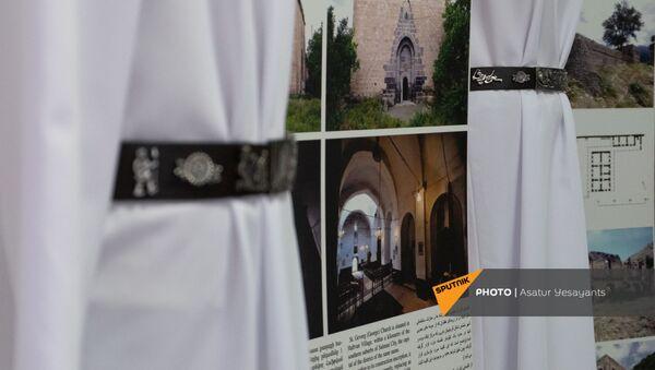 Իրանի Ս. Թադեոս տաճարի զարդանախշերով արծաթե գոտիների շնորհանդեսը - Sputnik Արմենիա
