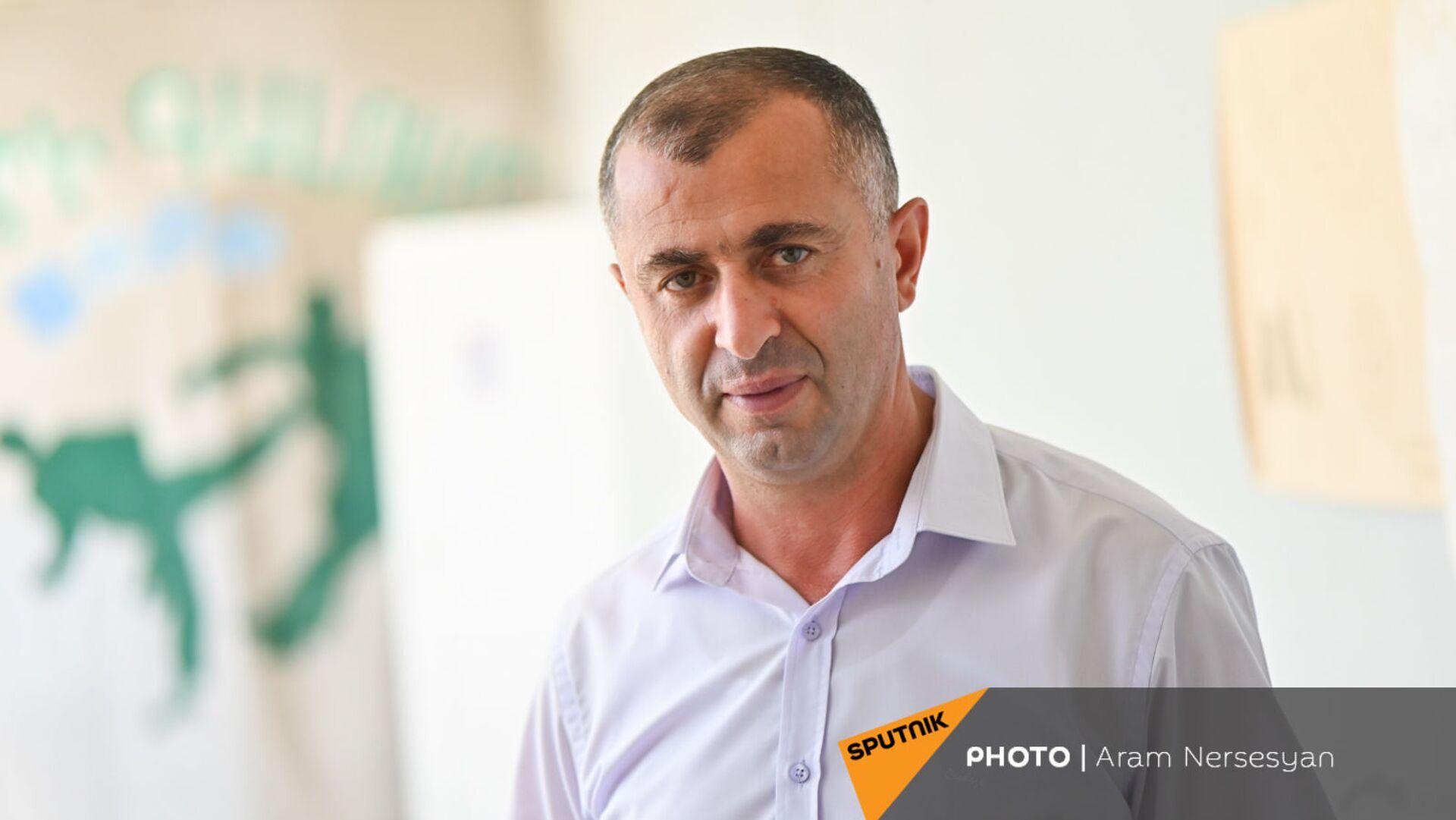 Глава общины Гегамасар Акоп Аветян  - Sputnik Армения, 1920, 22.09.2021