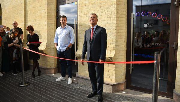 Посол Армении в Украине Владимир Карапетян на открытии Центра креативных технологий TUMO в Киеве - Sputnik Արմենիա