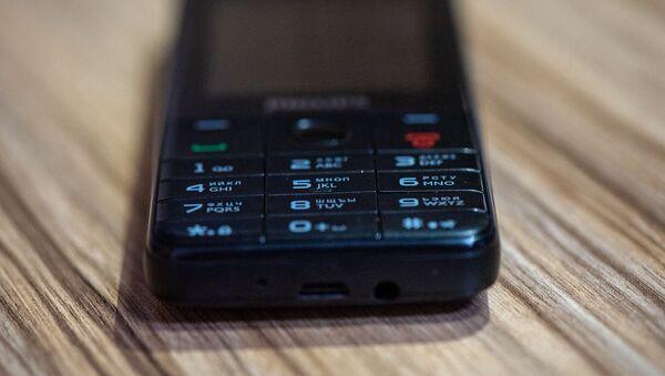 Кнопочный мобильный телефон - Sputnik Армения