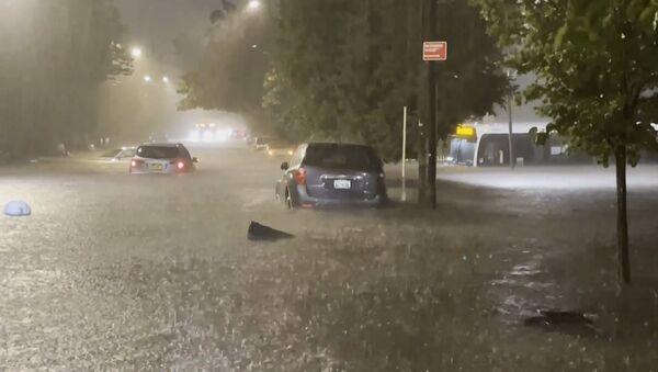 Нью-Йорк в чрезвычайном положении из-за урагана Ида - Sputnik Արմենիա