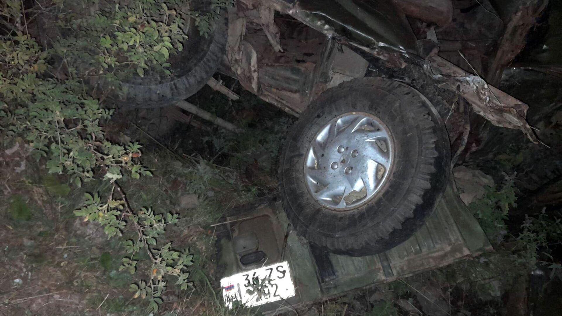 Дорожно-транспортное происшествие в Тавушской области - Sputnik Армения, 1920, 19.09.2021