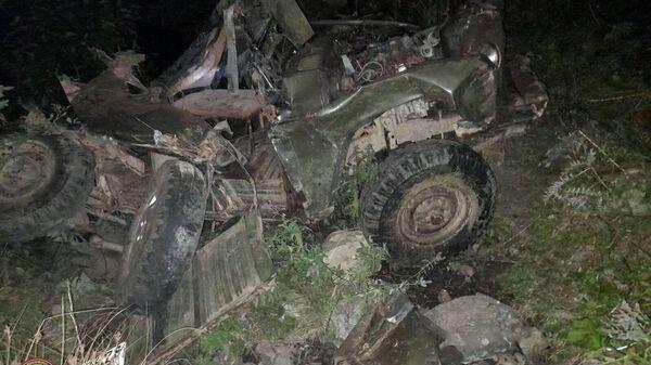 Дорожно-транспортное происшествие в Тавушской области - Sputnik Армения