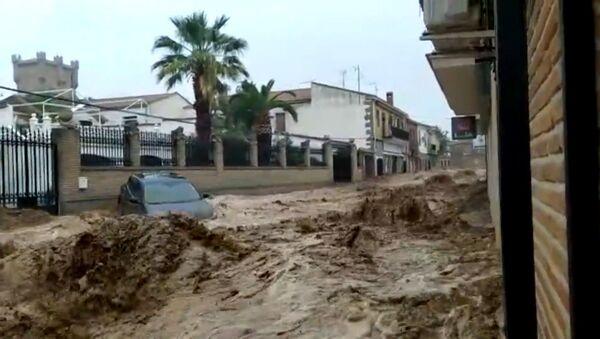 После наводнения улицы в Толедо превратились в реки - Sputnik Արմենիա