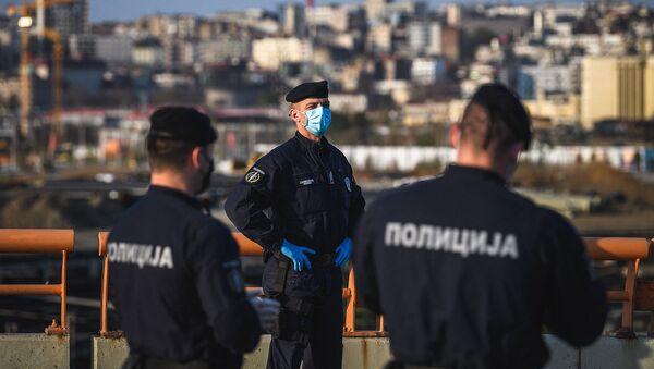Полицейские в Сербии - Sputnik Արմենիա
