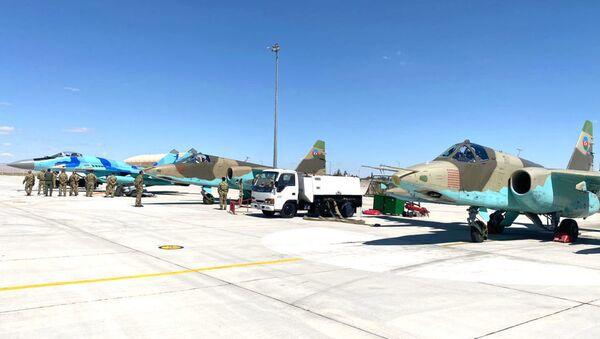 Совместные учения ВВС Турции и Азербайджана - Sputnik Армения