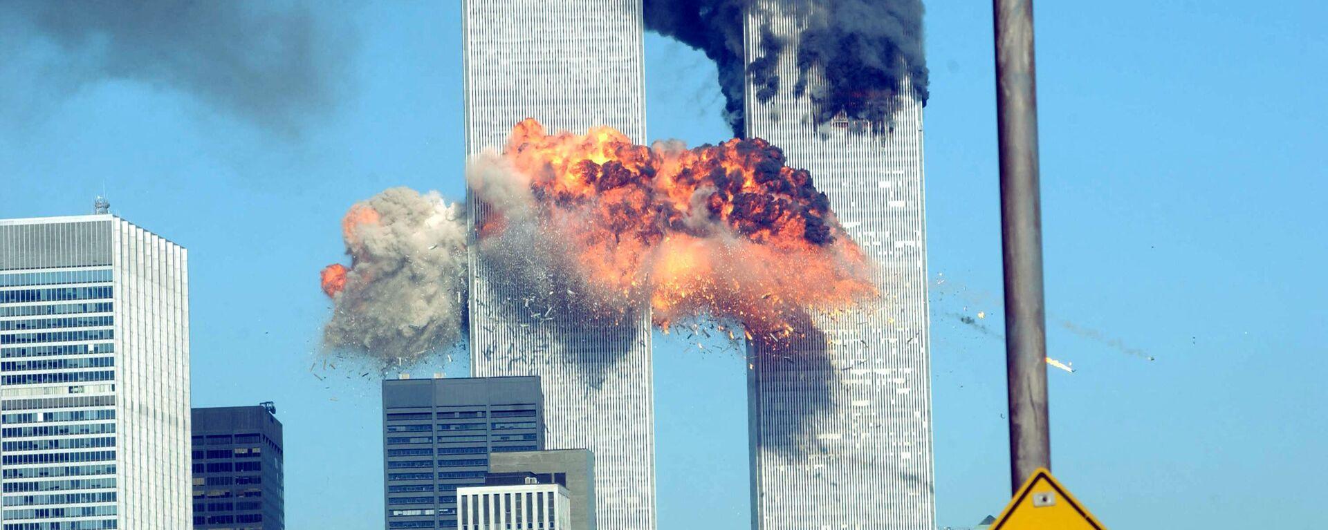 Разрушения в результате теракта 11 сентября в Нью-Йорке - Sputnik Արմենիա, 1920, 06.09.2021