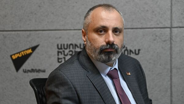 Давид Бабаян в гостях радио Sputnik - Sputnik Армения