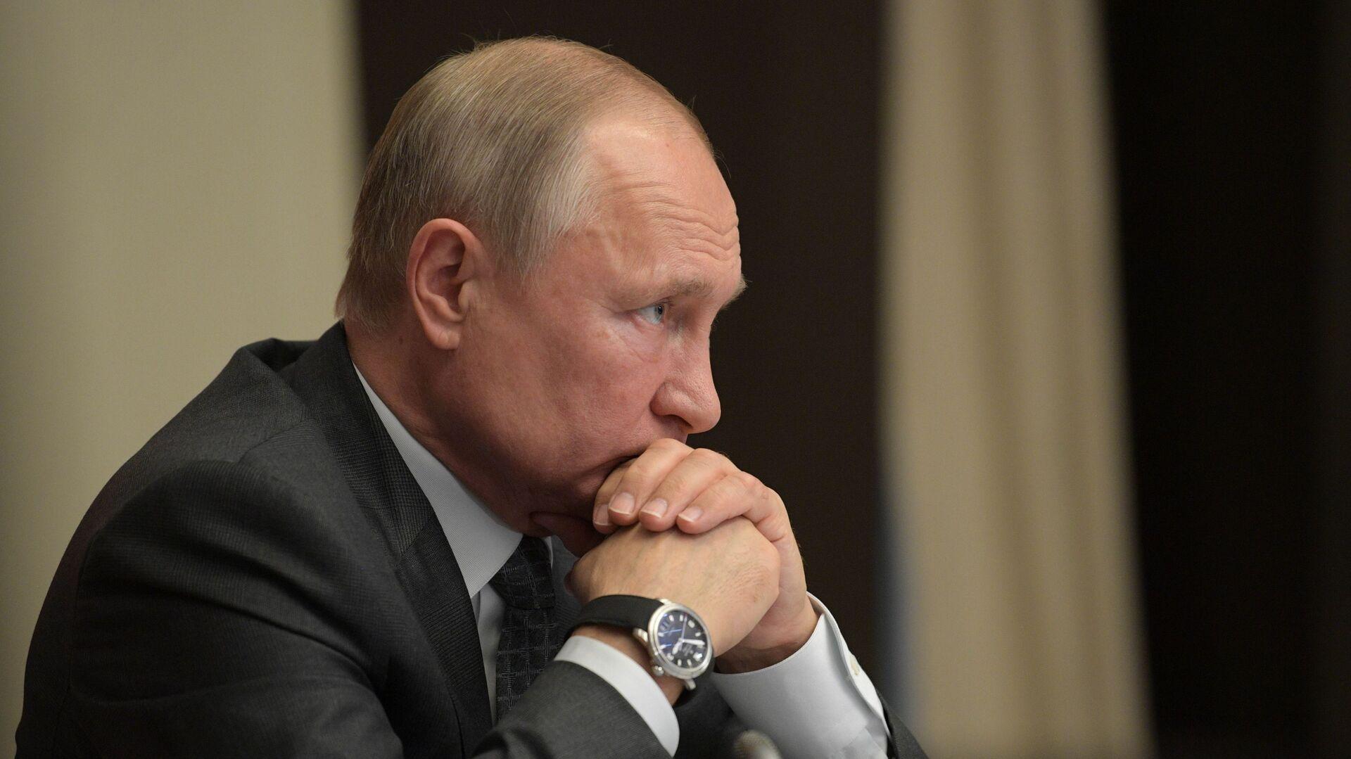 Президент РФ Владимир Путин  - Sputnik Արմենիա, 1920, 13.10.2021