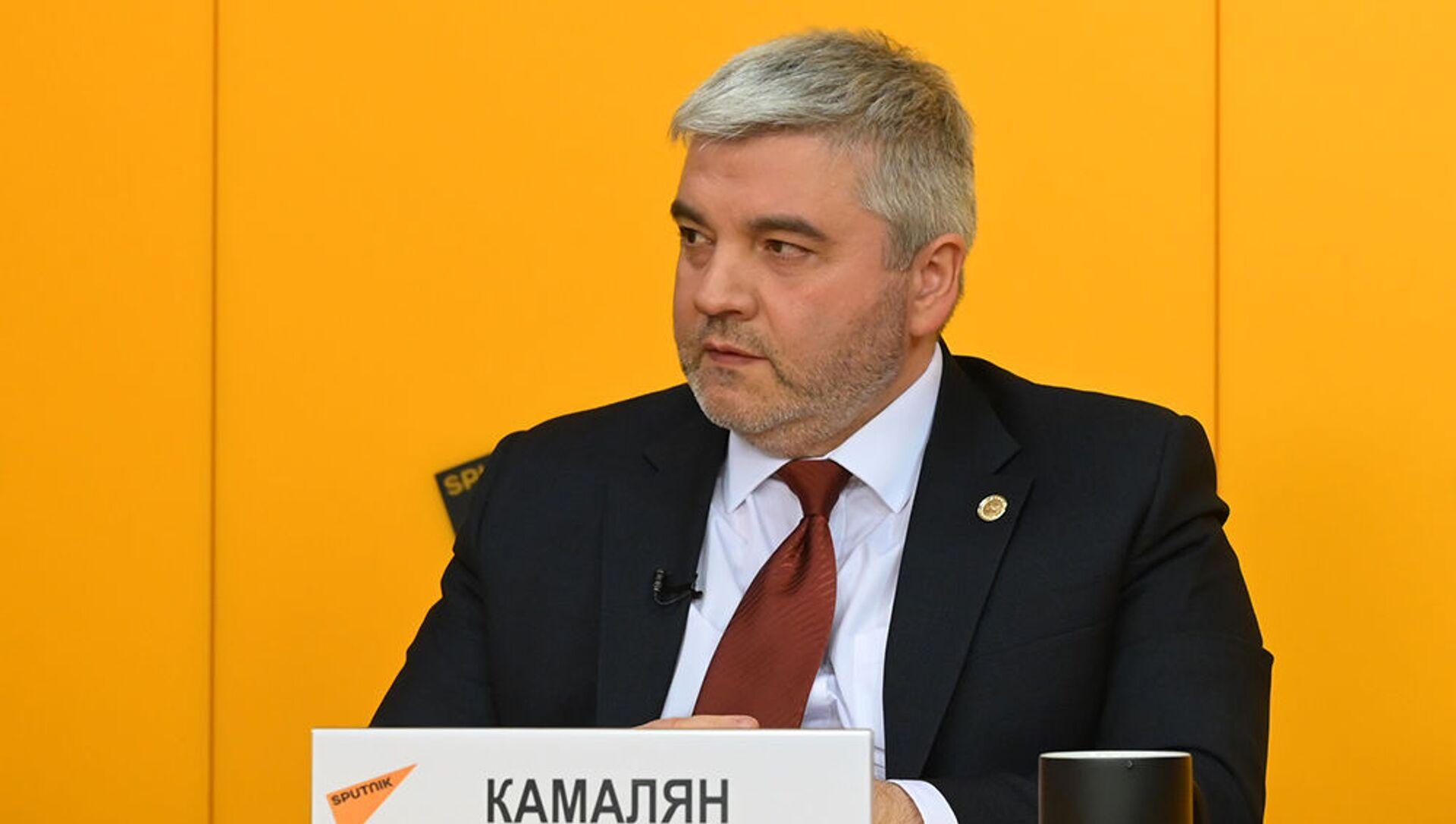 Министр по промышленности и агропромышленному комплексу ЕЭК Артак Камалян - Sputnik Армения, 1920, 08.09.2021