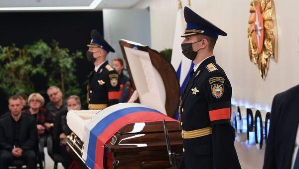 Прощание с министром МЧС Зиничевым - Sputnik Армения