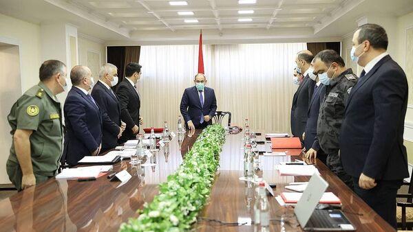 Заседание Совета безопасности под председательством премьер-министра Никола Пашиняна (10 сентября 2021). Еревaн - Sputnik Արմենիա