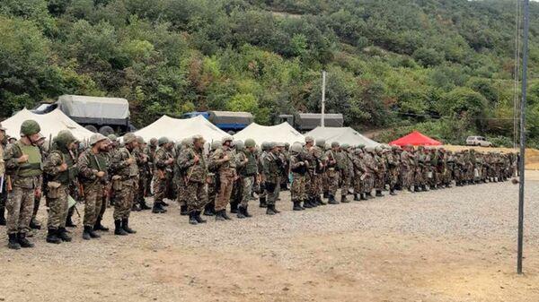 Отправка резервистов на боевое дежурство - Sputnik Армения