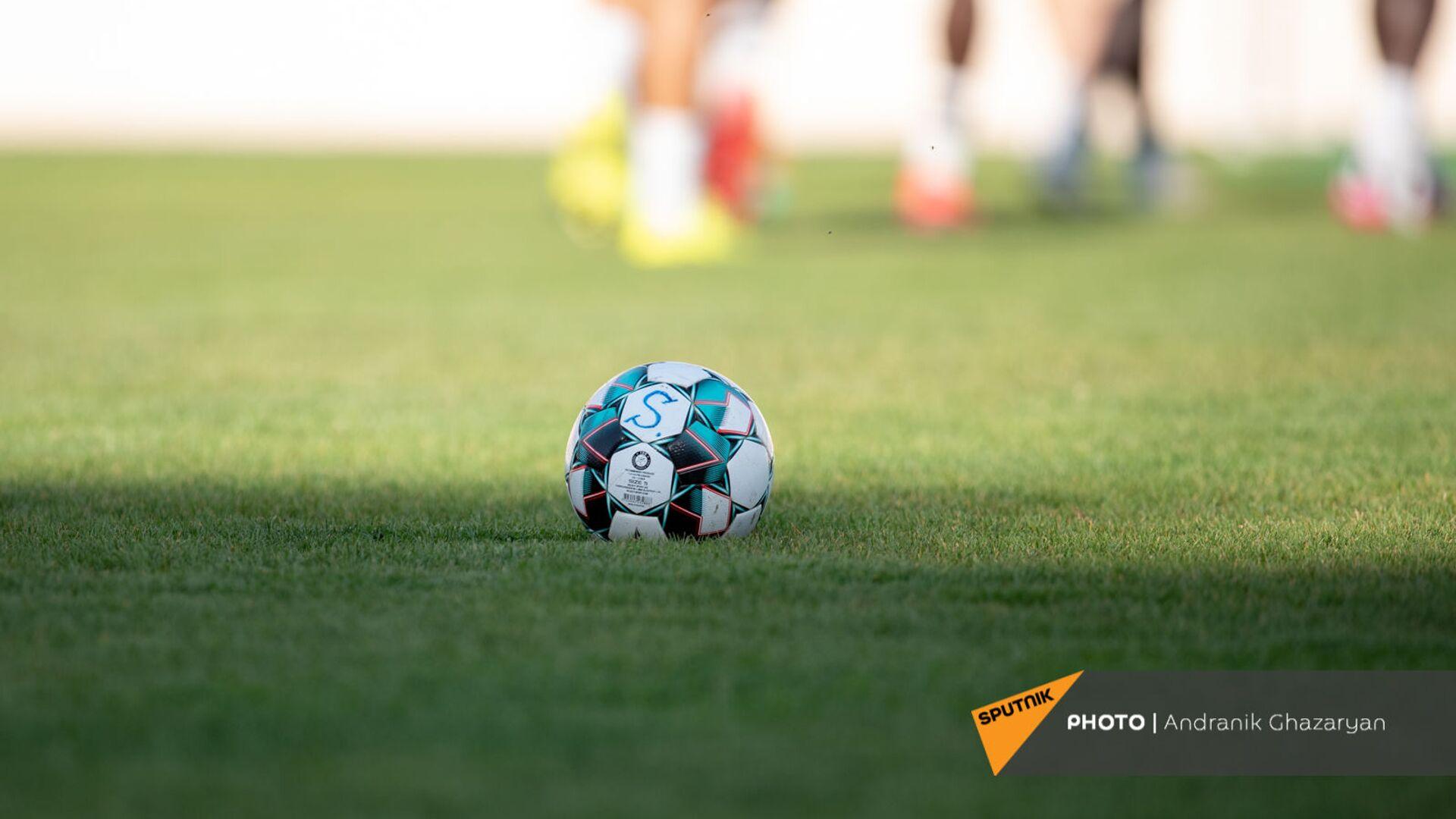 Футбольный мяч - Sputnik Армения, 1920, 23.09.2021