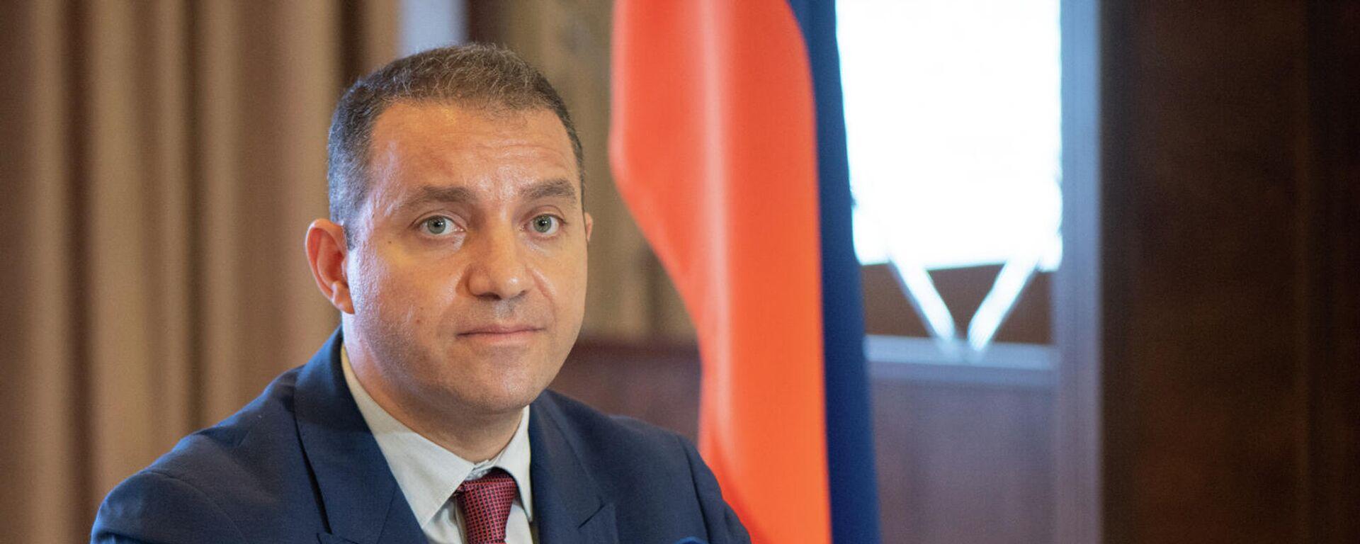Հայ-ուկրաինական միջկառավարական հանձնաժողովի նիստը (2021թ․ սեպտեմբերի 14), Երևան - Sputnik Արմենիա, 1920, 16.09.2021