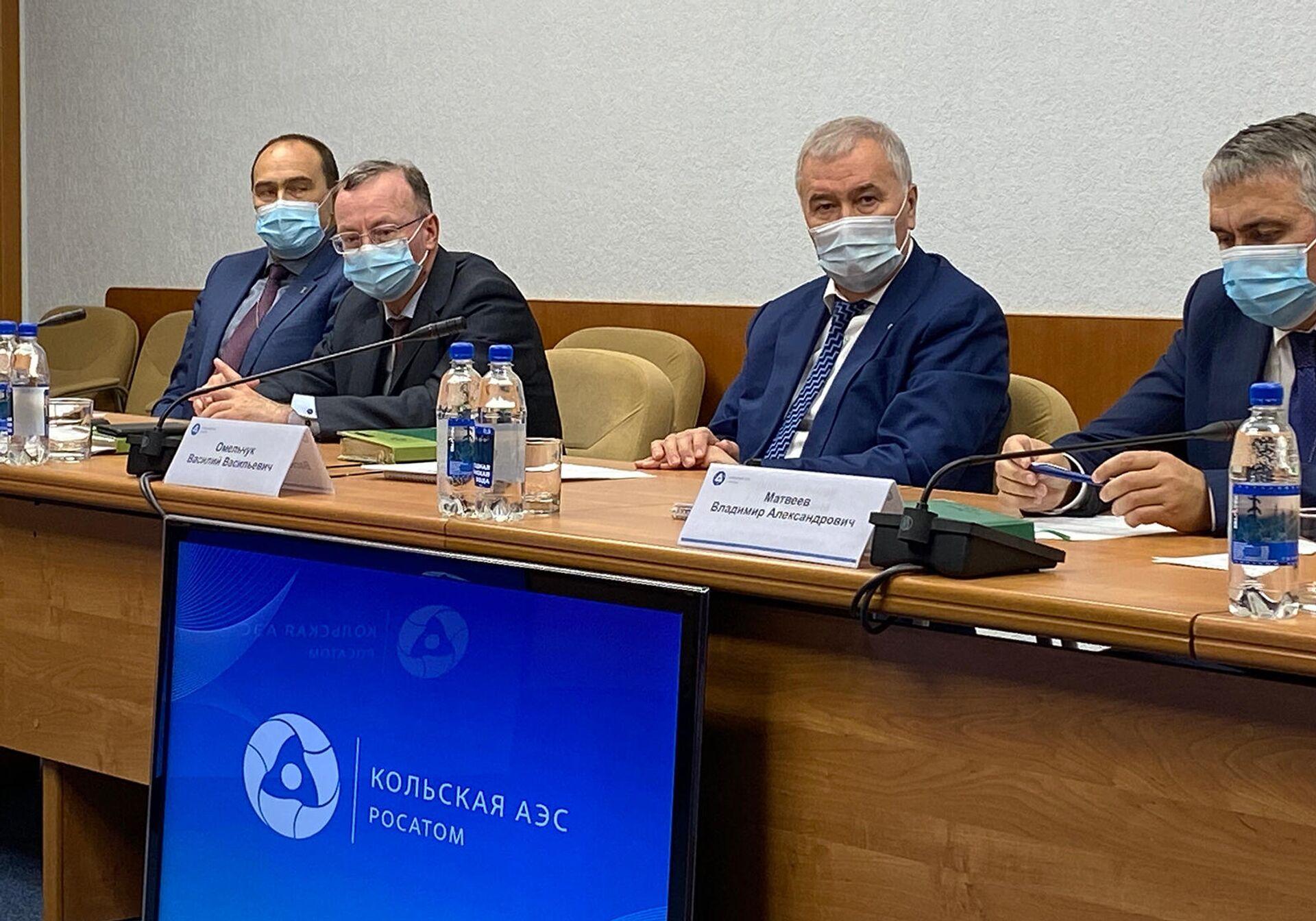 Руководство Кольской АЭС на встрече с армянскими экспертами и журналистами - Sputnik Армения, 1920, 22.09.2021