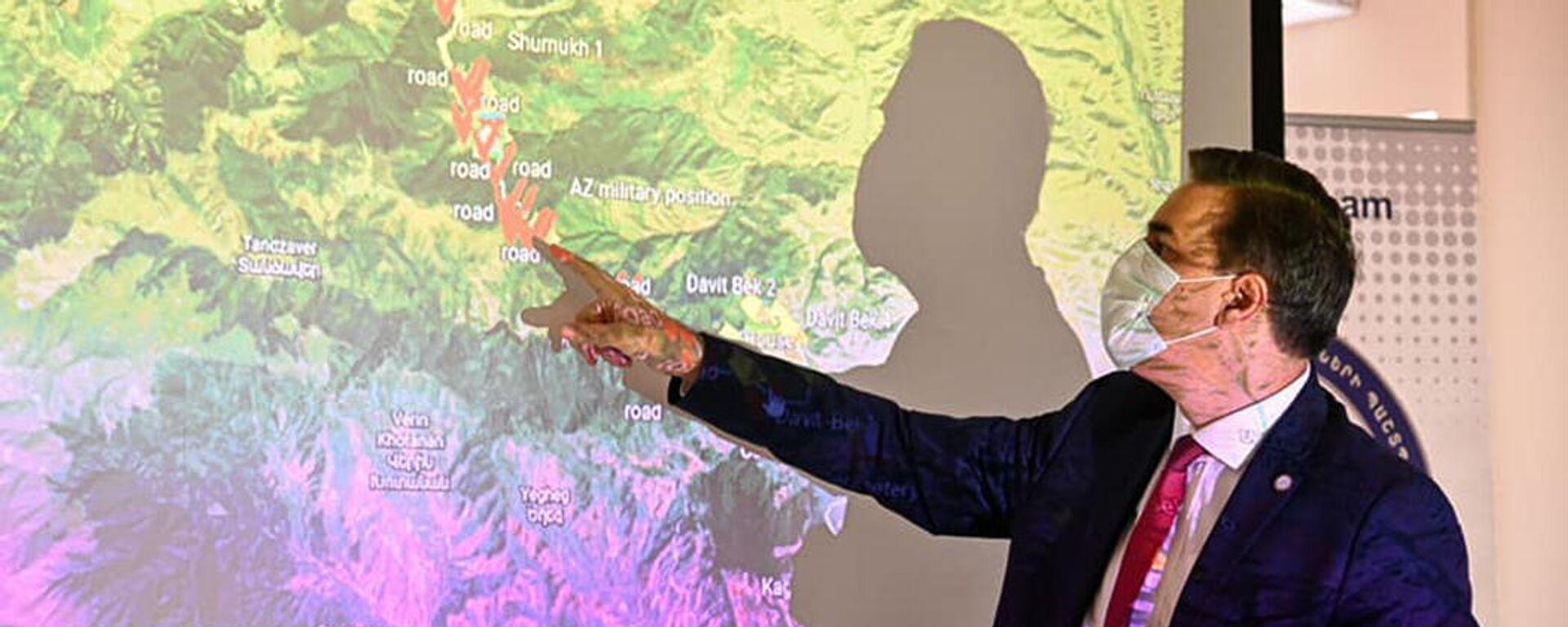 Защитник прав человека в Армении Арман Татоян принял делегацию, возглавляемую специальным представителем Евросоюза на Южном Кавказе и по вопросам кризиса в Грузии Тойво Клааром (14 сентября 2021). Еревaн - Sputnik Армения, 1920, 19.09.2021