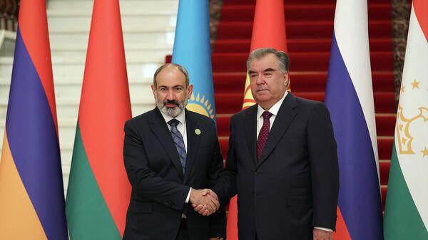 Դուշանբեում տեղի է ունեցել Հայաստանի վարչապետի և Տաջիկստանի նախագահի հանդիպումը - Sputnik Արմենիա