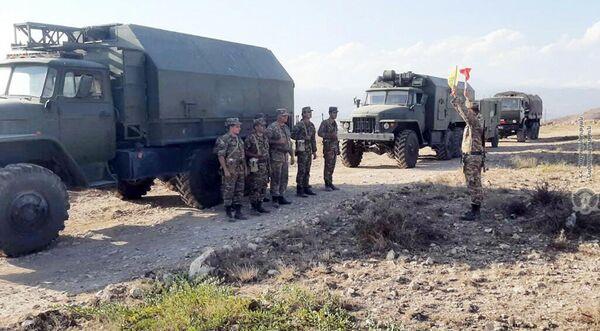 ՀՕՊ զորքերը մարզումներ են անցկացնում - Sputnik Արմենիա