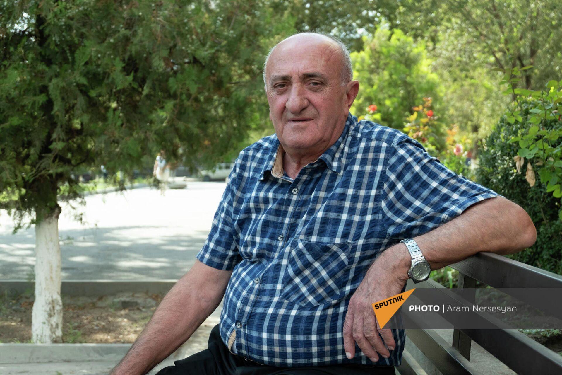 Замглавы администрации общины Мецамор Самвел Галстян - Sputnik Армения, 1920, 26.09.2021