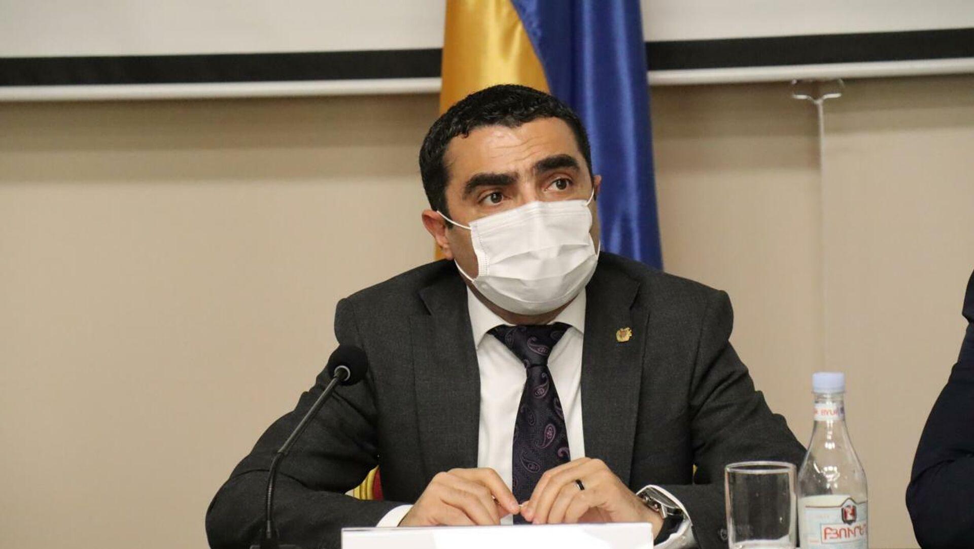 Министр окружающей среды Романос Петросян провел расширенные консультации с представителями лесного хозяйства - Sputnik Արմենիա, 1920, 17.09.2021