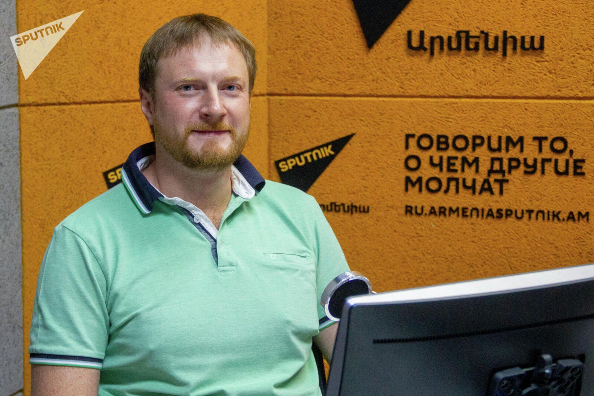 Директор по развитию региональных образовательных программ компании Яндекс Сергей Бражник в гостях радио Sputnik - Sputnik Армения, 1920, 22.09.2021
