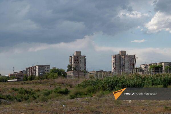 Вид на город Мецамор со стороны трассы M5 - Sputnik Армения