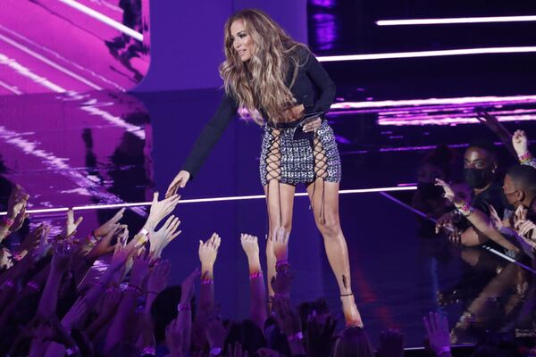 Певица Дженнифер Лопес на MTV Video Music Awards 2021. - Sputnik Армения