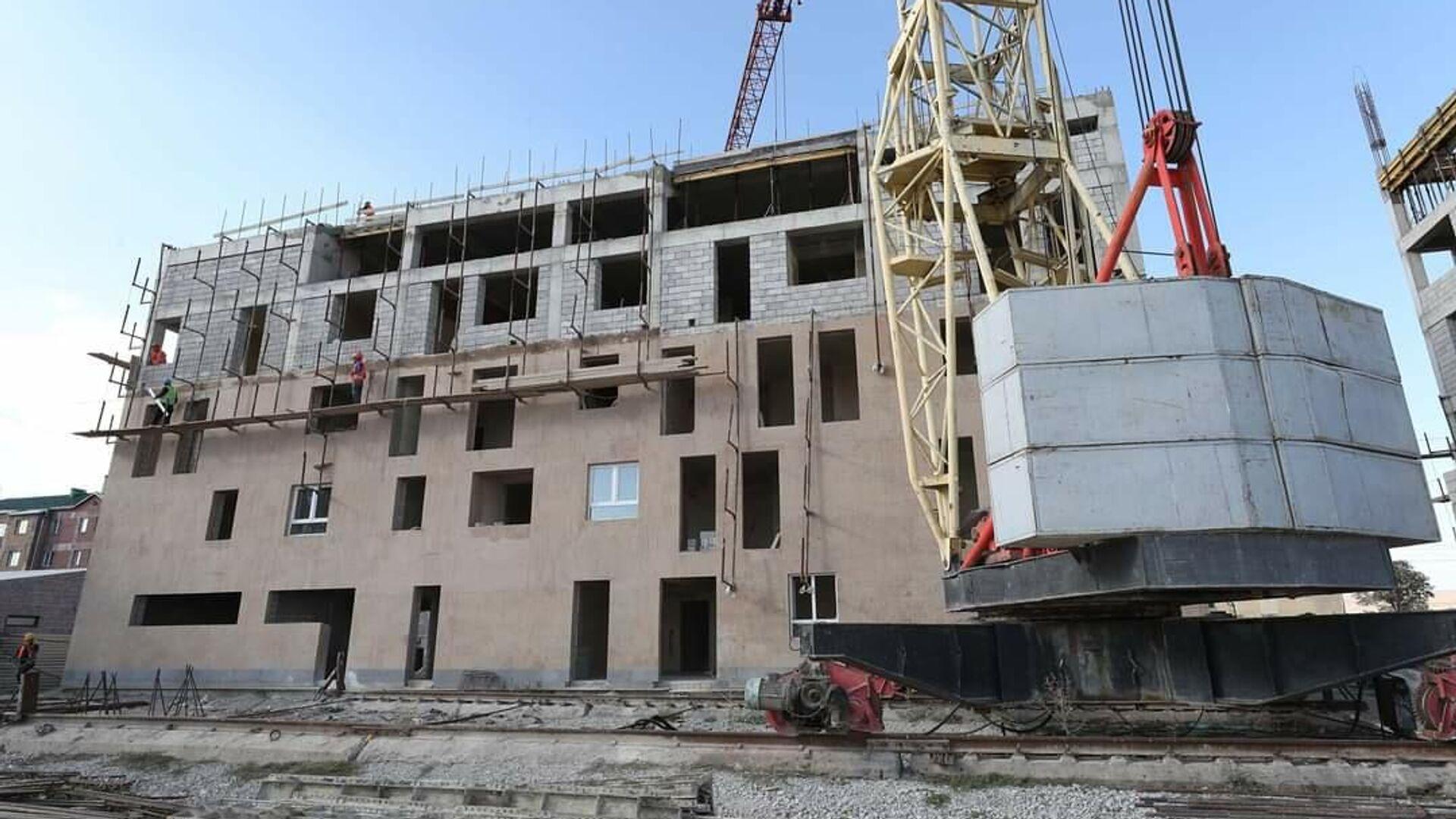 Գյումրու Մուշ թաղամասում 40 ընտանիքի համար շենքեր են կառուցվում - Sputnik Արմենիա, 1920, 19.09.2021