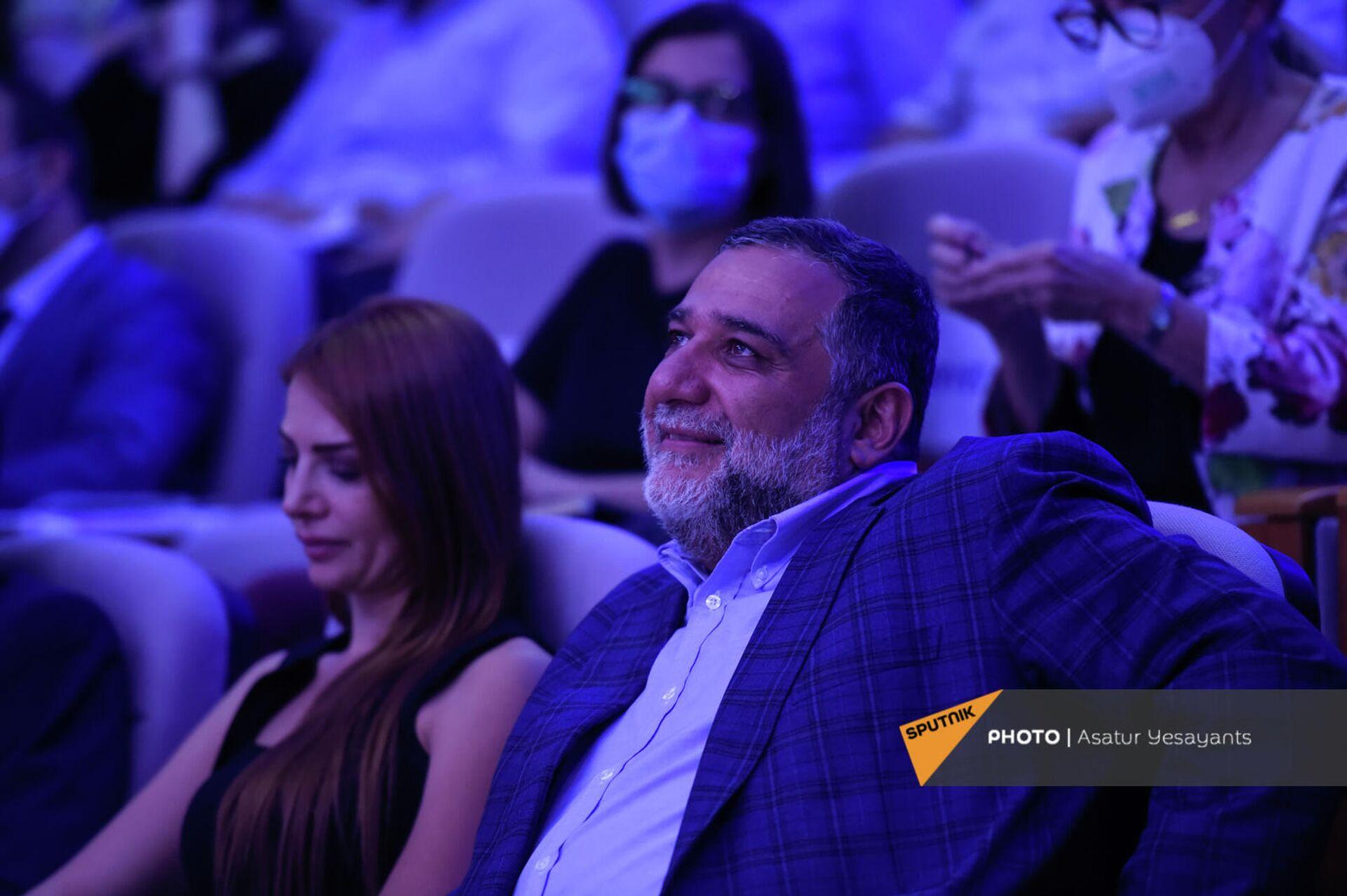 Рубен Варданян на форуме Из Армении 2020 в Армению 2041 (19 сентября 2021). Еревaн - Sputnik Армения, 1920, 19.09.2021