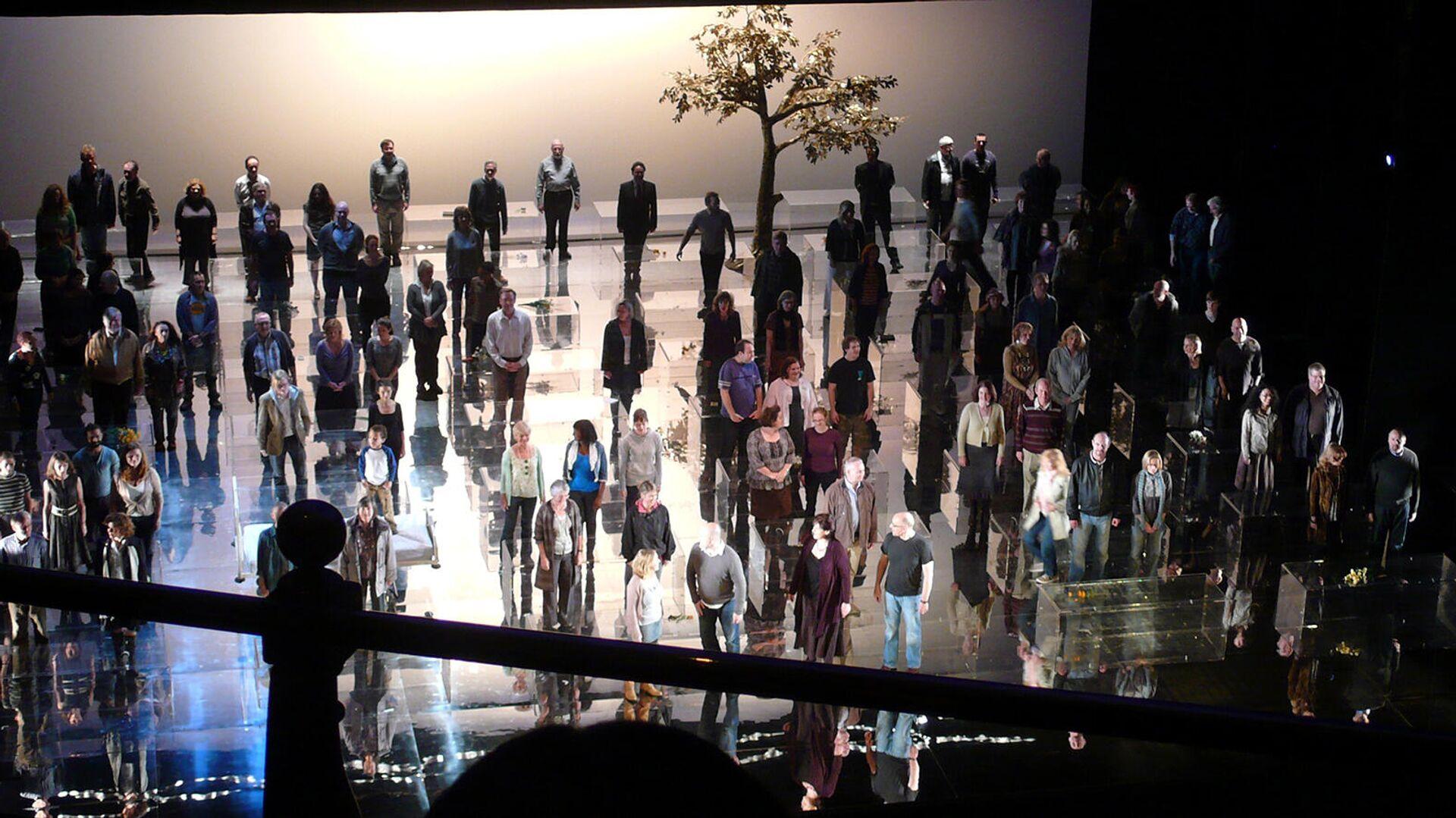 Постановка Мессии Генделя в Английской национальной оперы в Лондоне - Sputnik Армения, 1920, 19.09.2021