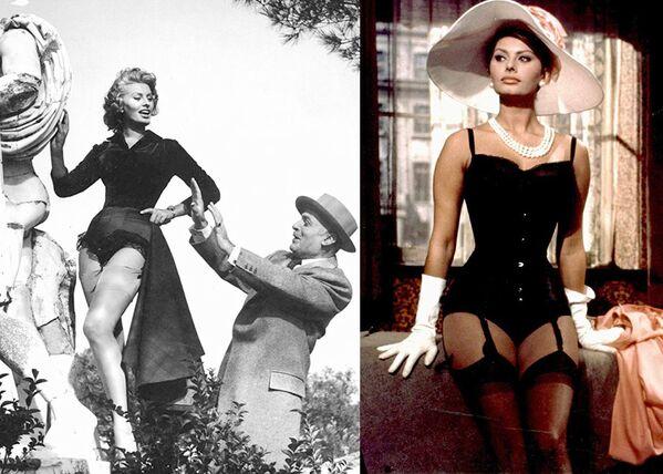 """Кадры из фильмов """"Счастье быть женщиной"""" (1956) и """"Миллионерша"""" (1960). - Sputnik Армения"""