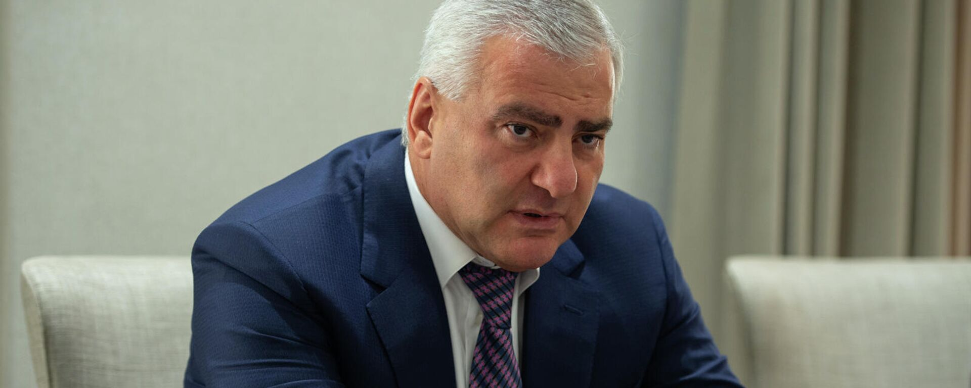 Президент Группы компаний Ташир, основатель Клуба инвесторов Армении Самвел Карапетян - Sputnik Армения, 1920, 20.09.2021