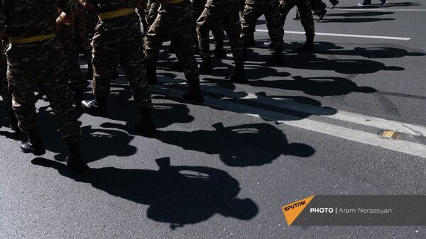Марш подразделений силовых структур Армении по центральным улицам столицы (21 сентября 2021). Еревaн - Sputnik Армения