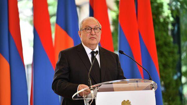 Արմեն Սարգսյան - Sputnik Արմենիա