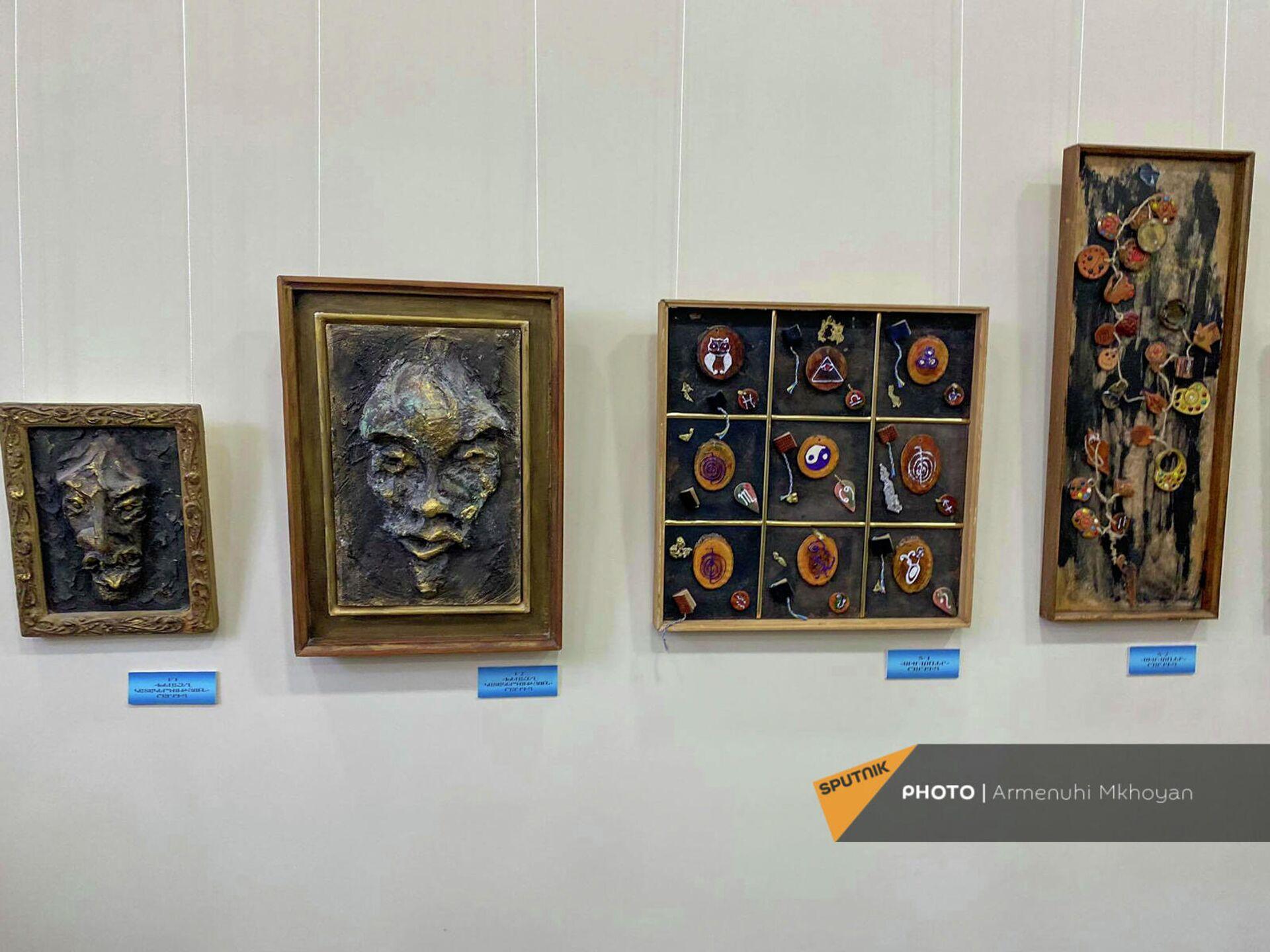Персональная выставка Возвращение Бена Погосяна, тяжело раненного в 44-дневной войне (21 сентября 2021). Гюмри - Sputnik Армения, 1920, 24.09.2021