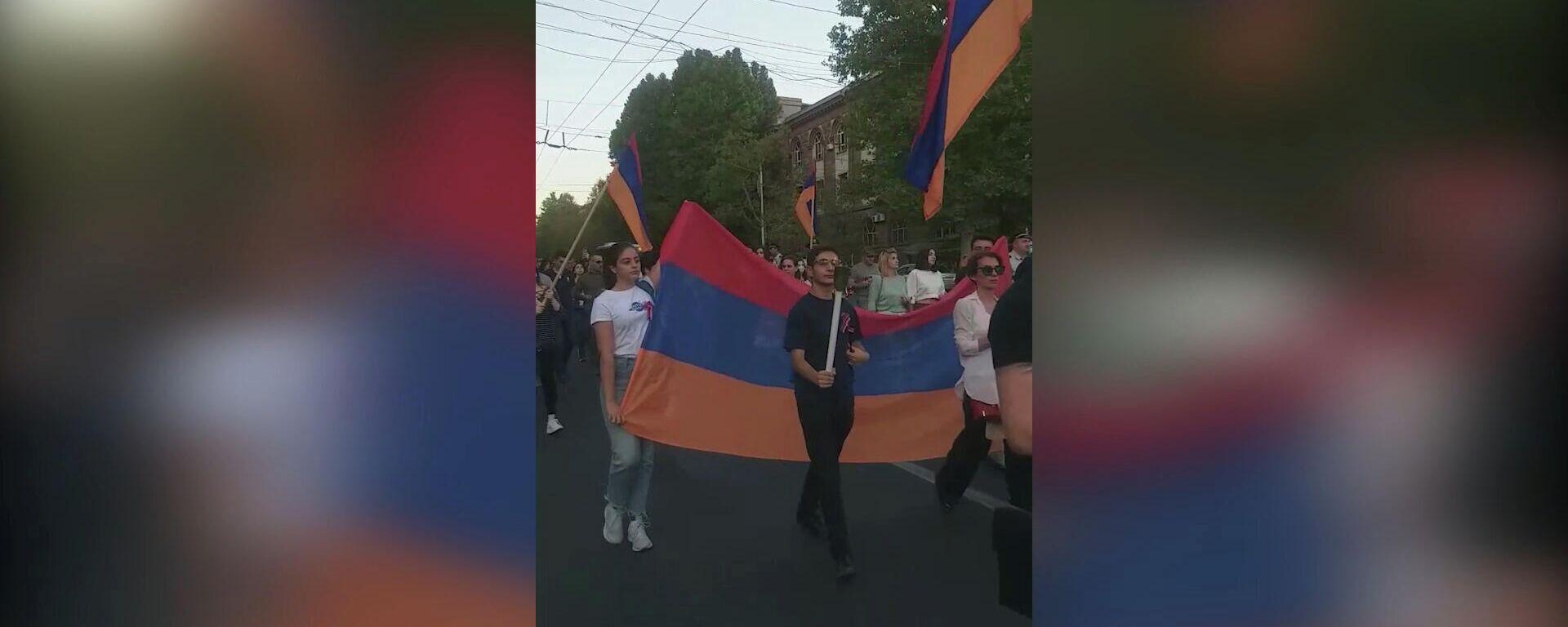 Երթ դեպի Եռաբլուր - Sputnik Армения, 1920, 21.09.2021