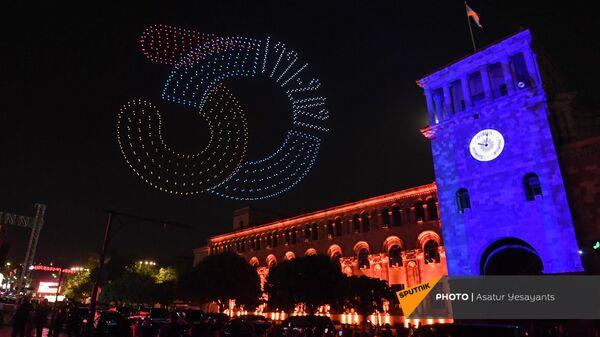 Անկախության 30–ամյակի համերգը Հանրապետության հրապարակում - Sputnik Արմենիա
