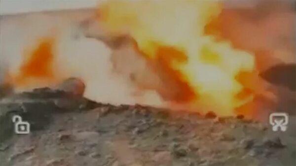 Взрыв на газопроводе Союз в Оренбуржье - в сети появились первые кадры с места аварии - Sputnik Армения