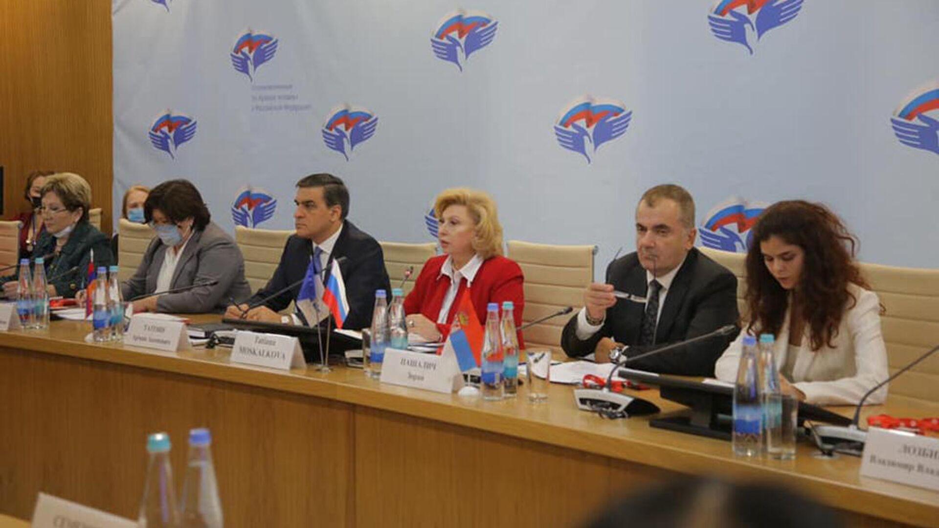 Արման Թաթոյանը սեպտեմբերի 17-19 մասնակցել է ՌԴ Պետական դումայի ընտրությունների դիտարկմանը՝ որպես միջազգային փորձագետ: - Sputnik Արմենիա, 1920, 22.09.2021