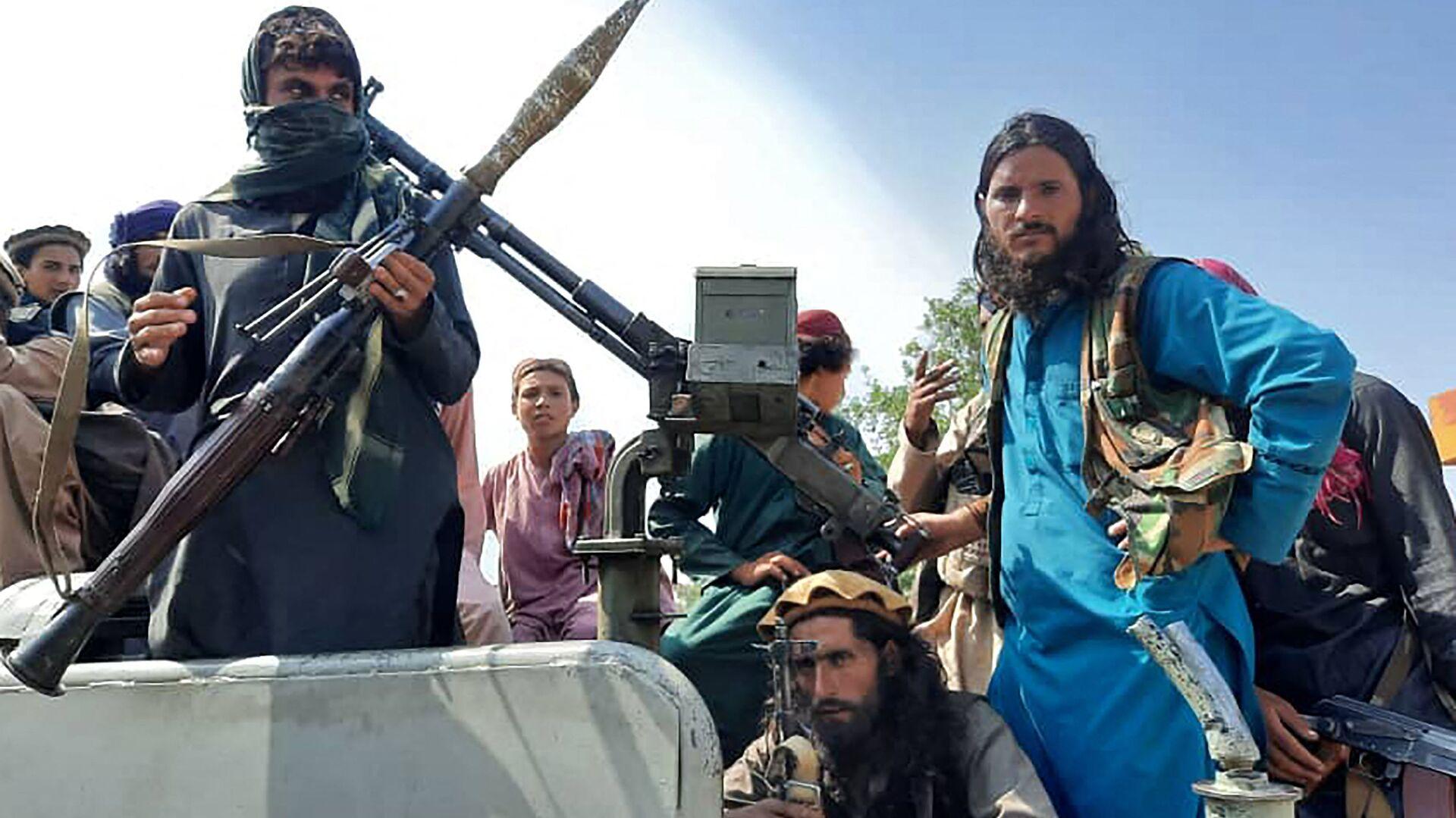 Боевики Талибана* в провинции Лагман, Афганистан - Sputnik Армения, 1920, 23.09.2021